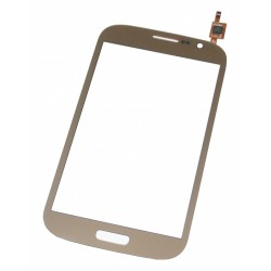 Ecran Vitre Tactile pour Samsung i9060i Or Gold Galaxy Grand Neo Plus