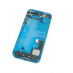 Coque Assemblée iPhone 5 Noir et Bleu + Piècesdéjà posées