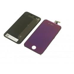 Kit Violet iPhone 4 - Vitre tactile + LCD assemblé + Coque arrière