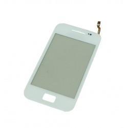Vitre Samsung Galaxy Ace S5830 Blanc - écran tactile + Stickers