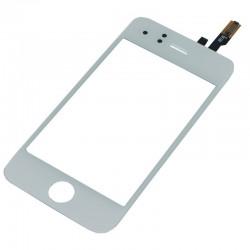 Vitre iPhone 3G Blanc - écran tactile + Adhésif 3M