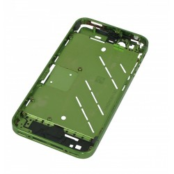 Chassis Ecran iPhone 4 vert de remplacement + boutons