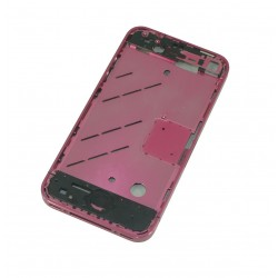 Chassis Ecran iPhone 4 Rose + boutons