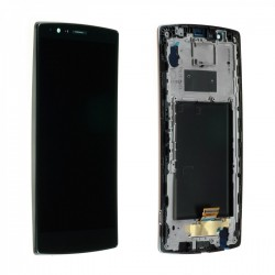 Ecran LG G4 H815 - LCD + Vitre tactile assemblée sur châssis