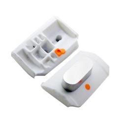 Bouton Mute , Silence , Vibreur iPhone 3G & 3GS Blanc