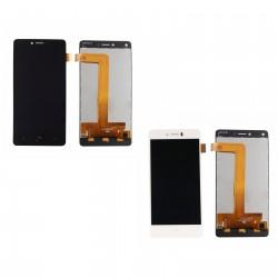 Ecran LCD + Vitre tactile assemblée pour BQ Aquaris U & U Lite