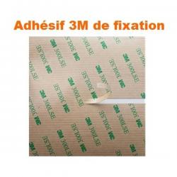 Vitre Alcatel One Plus Fierce Blanc OT7020 OT7024 + Adhésif