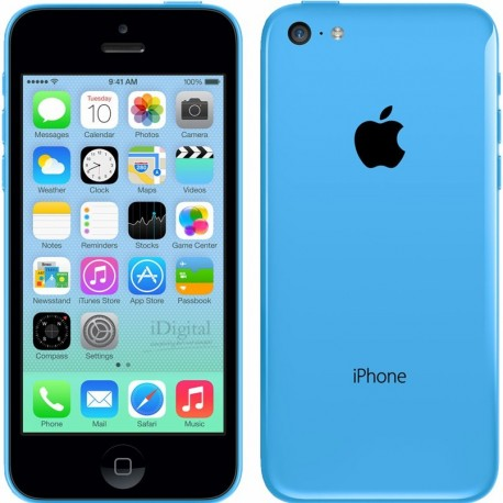 iPhone 5C 8 Go bleu reconditionné à neuf