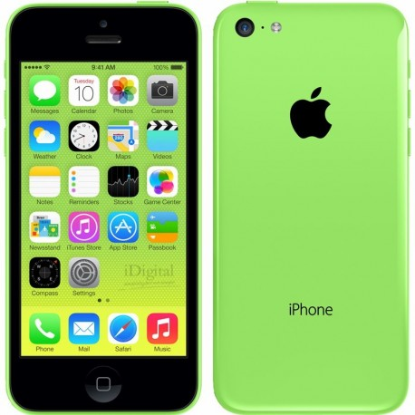 iPhone 5C 32 Go vert reconditionné à neuf