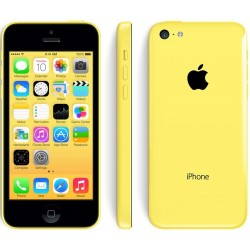 iPhone 5c jaune 8go reconditionné à neuf