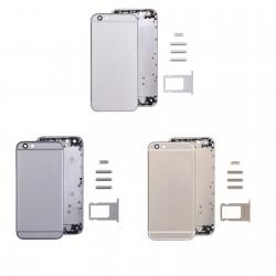 Coque arrière iPhone 6 Plus - Châssis + Boutons + Tiroir Sim