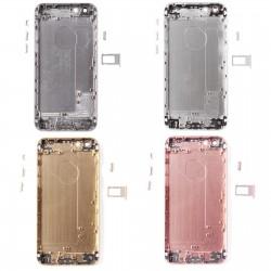 Coque arrière iPhone 6S - Châssis + Boutons + Tiroir Sim de remplacement
