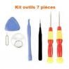 Kit outils 7 pcs pour réparation smartphone