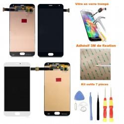 Ecran Meizu Pro 5 LCD et vitre tactile assemblé + Adhésif 3M