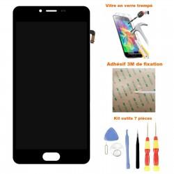 Ecran Meizu M5 complet - Vitre tactile + LCD assemblé + Stickers 3M