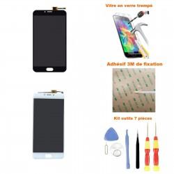 Ecran Meizu U20 complet LCD + vitre tactile + Adhésif 3M