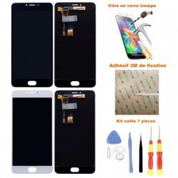 Ecran Meizu M3 Note complet - LCD + Vitre tactile assemblé