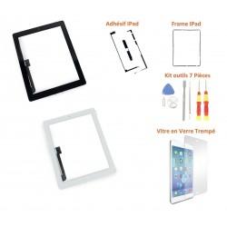Vitre tactile iPad 3 / 4 - Kit de remplacement complet