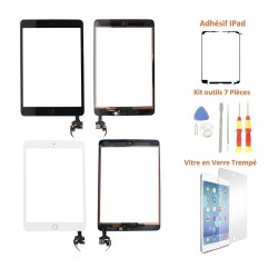 Vitre tactile iPad Mini 3 - Kit de remplacement complet