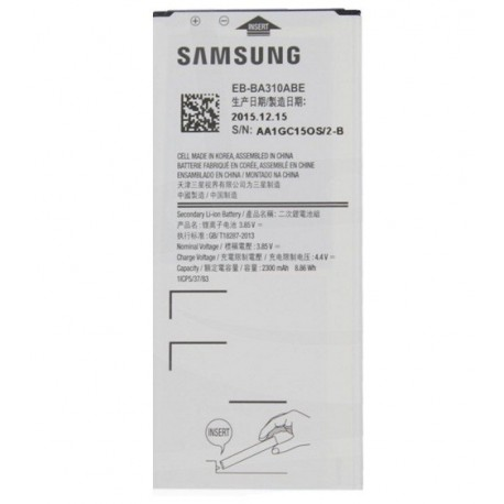remplacer Batterie Galaxy A310F