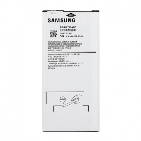 réparer Batterie Galaxy A710F