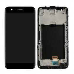Ecran LG K10 2017 M250N complet - LCD + Vitre tactile + Châssis