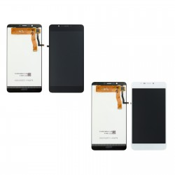 Ecran Wiko Tommy 2 Plus - vitre tactile assemblé + LCD Display