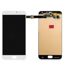 Ecran LCD et Tactile assemblé pour Meizu Pro 5 Blanc