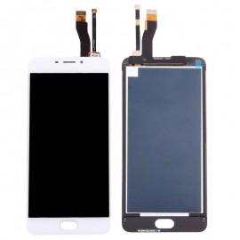 Ecran Lcd Complet de réparation pour Meizu M5 Note blanc