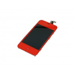 LCD iphone 4 Rouge
