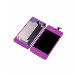 Kit Violet iPhone 4S - Vitre tactile + LCD assemblé + Coque arrière