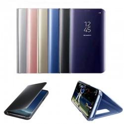 Coque à Fenêtre Miroir Clear View pour Samsung Galaxy S7 Edge