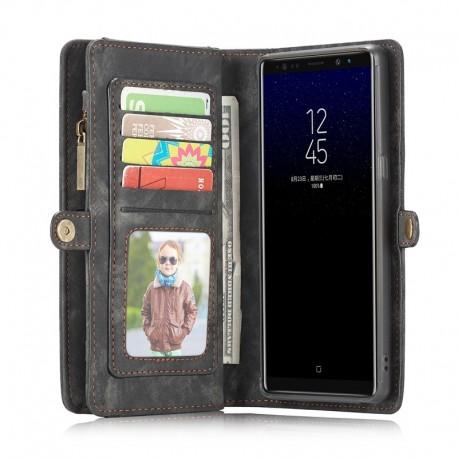 Portefeuille Deluxe Housse Cuir Magnétique pour Samsung Galaxy Note 8