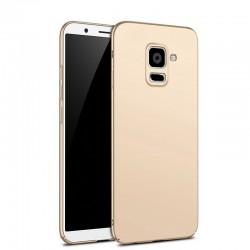 Coque arrière dure anti-empreinte pour Samsung Galaxy A8 2018