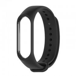 Bracelet poignet de rechange en silicone pour tracker Xiaomi Mi Band 3