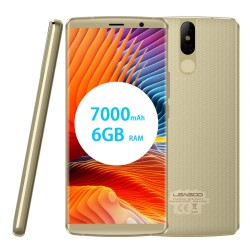 Smartphone Leagoo Power 5 Qi Charge 5.99pouces 7000 mAh 64go+6go Ram