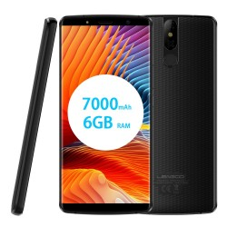 Smartphone Leagoo Power 5 Qi Charge 5.99 pouces 7000 mAh 64go+6go Ram