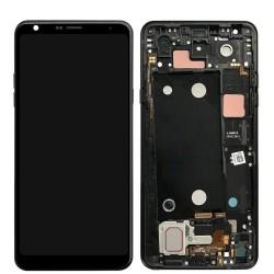 Ecran LG Q7 - LCD + Vitre assemblée sur châssis