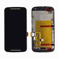 écran complet Motorola XT-1072 - LCD + vitre tactile assemblé sur châssis