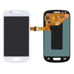 Ecran Samsung S3 Mini i8190 Galaxy blanc - LCD + Vitre tactile assemblée