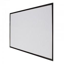 Écran de projection 100 pouces 16: 9 blanc mat 221cm x 125cm - mur ou plafond