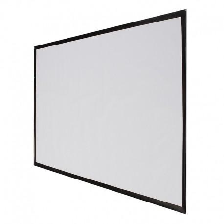 ecran de projection pliable toile 100 pouces 16 9. Black Bedroom Furniture Sets. Home Design Ideas