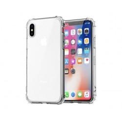 Étui pour iphone de téléphone en Silicone Transparent antichoc 11 X XS XR XS Max 8 7 6 6S Plus couverture arrière de protection