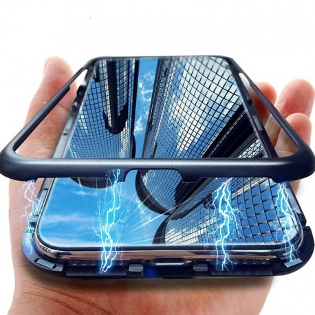étui magnétique 360 Degré pour smartphone Huawei P30 P20 Pro Lite Nova 5 5i Pro 4E 4 3e 3 3i