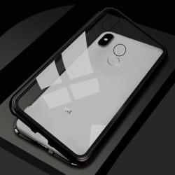 Housse 360 Degré magnetique pour smartphone Xiaomi A3 CC9 CC9E 9 9T 8 SE Pro Lite Pocophone F1