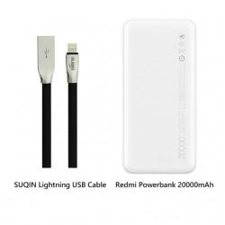 Powerbank Xiaomi Redmi batterie externe 20000mAh QC 3.0 USB Type C18W