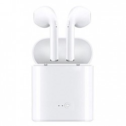 Casque sans fil Bluetooth AirPods blancs casque micro mains libres