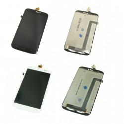 Ecran Wiko Darkside - LCD et Vitre tactile assemblée + Adhésif 3M