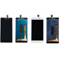 Ecran Wiko Fever 4G + Adhésif 3M - écran complet LCD + vitre tactile