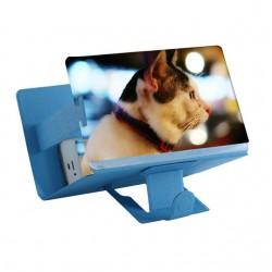 Support universel pliable loupe pour écran de téléphone Portable